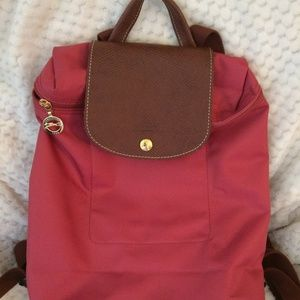 Authentic Le Pliage Longchamp backpack